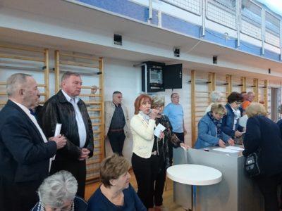 12. susret umirovljenika PGŽ u Sportskoj dvorani Kostrena