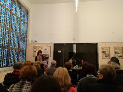 Najava književnog susreta s Lejlom Kalamujić