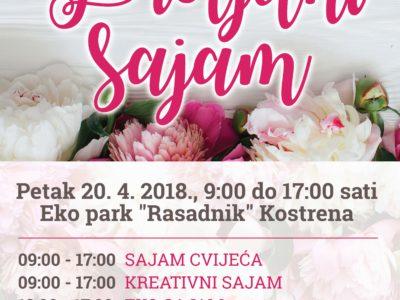 Najava Proljetnog sajma 20. travnja