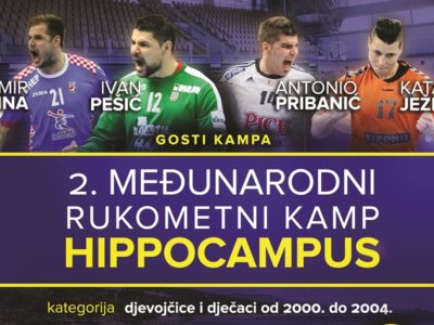 Najava Međunarodnog rukometnog Kampa Hippocampus
