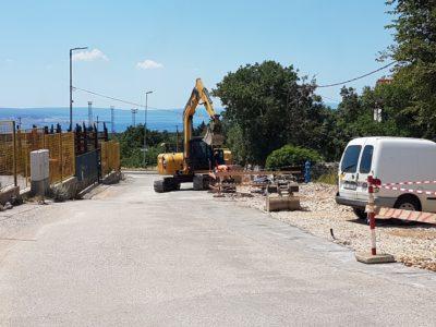 Mjesečno izvješće o komunalnim radovima na području Općine Kostrena