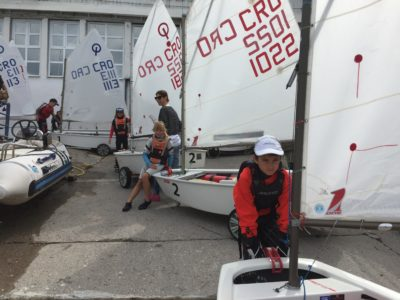 Najava 2. Opti Galeb 2018. Team Race