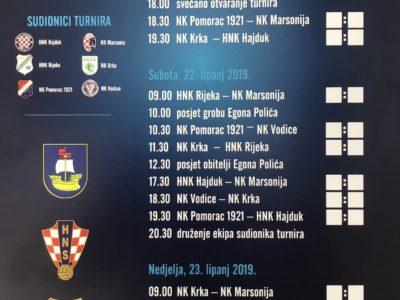 """Najava 42. memorijalnog nogometnog turnira """"EGON POLIĆ"""""""