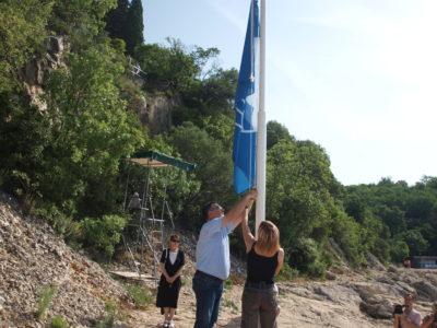 Podignuta Plava zastava u Svežnju
