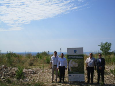 Početna konferencija projekta izgradnje reciklažnog dvorišta- počinje izgradnja reciklažnog dvorišta