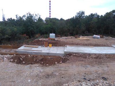 Izvještaj o radovima na izgradnji reciklažnog dvorišta
