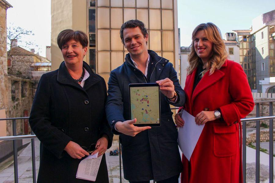 aplikacija za upoznavanje Slovenije