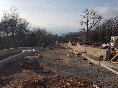 Izvještaj o komunalnim radovima u Kostreni