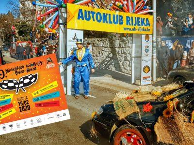 "Najava: 29. Maškarani auto rally ""Pariz-Bakar"""