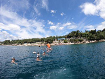 Održana akcija čišćenja Eko Kostrena i natjecanje u plivanju perajama