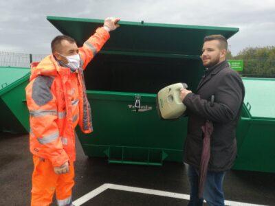 Reciklažno dvorište Urinj počelo s radom i zaprimanjem otpada