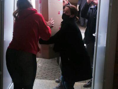 Konvoj s pomoći otpremljen u Petrinju