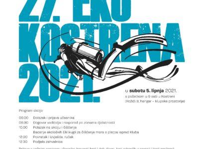 Najava 27. EKO KOSTRENA 2021.