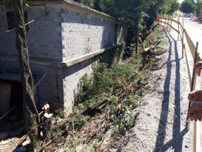 Obavijest o zatvaranju ceste prema uvali Žurkovo